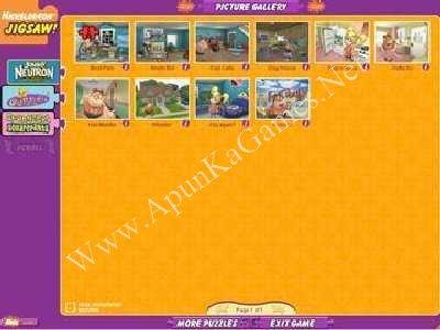 Nickelodeon Puzzle