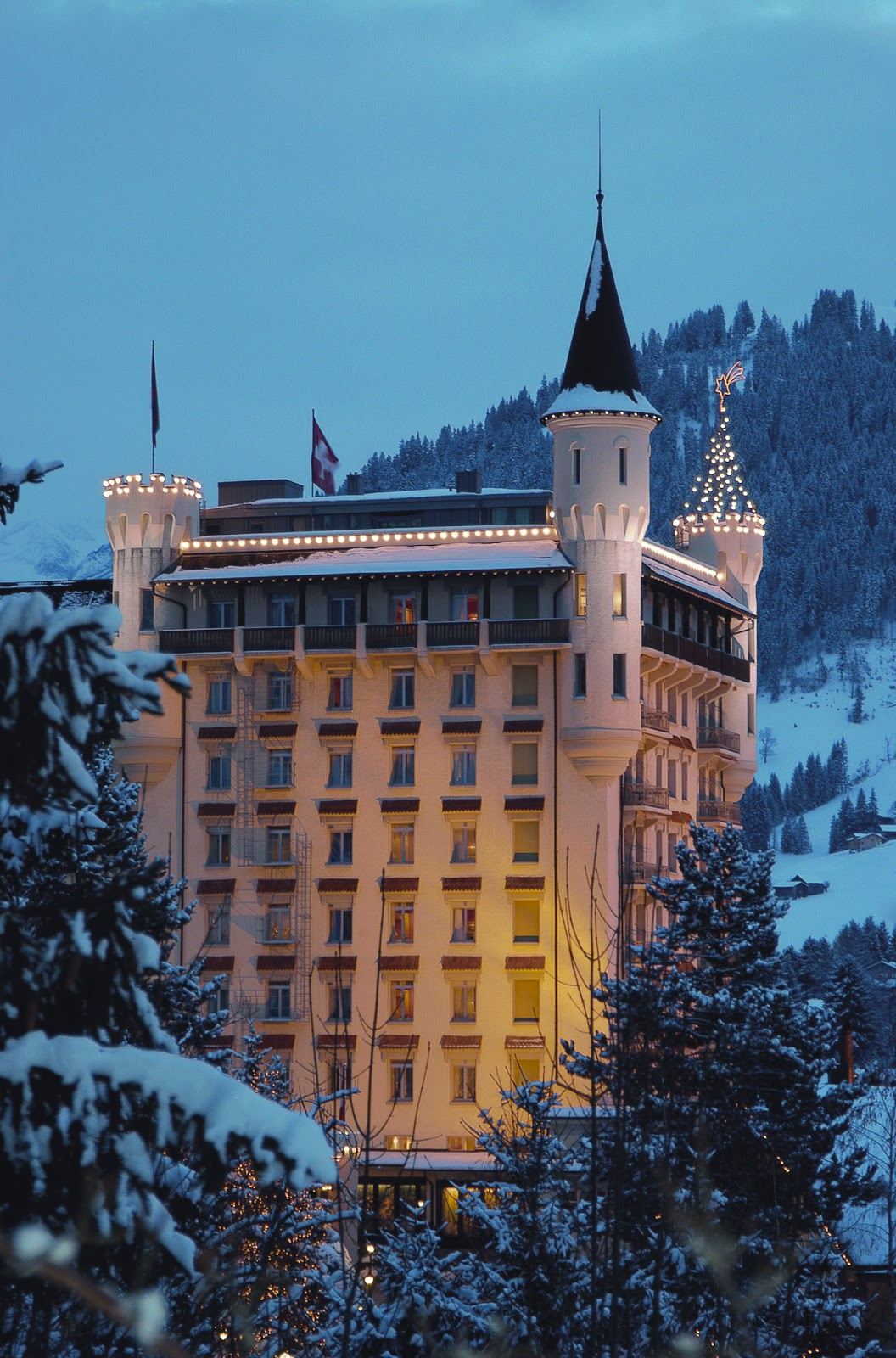 Welcome to Gstaad's Flagship Hotel and Spa - The Gstaad Palace. Photo: Gstaad Palace.
