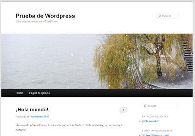 Instalación de Wordpress paso a paso