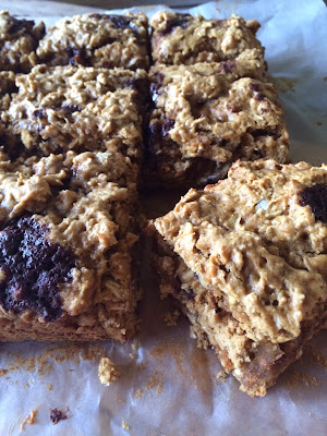 banana peanut butter bar