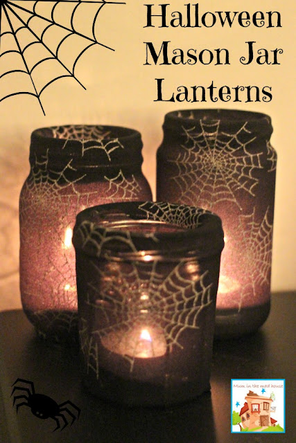http://www.muminthemadhouse.com/2014/10/21/mason-jam-jar-halloween-lanterns/