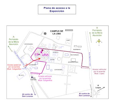 Imagen del Plano de ubicación del campus