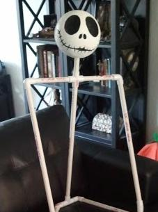 Diy nightmare before christmas halloween props life size diy jack looking at a detailed picture of jacks face online you can choose your favorite expression i lightly and carefully traced on his eyes nose holes solutioingenieria Images