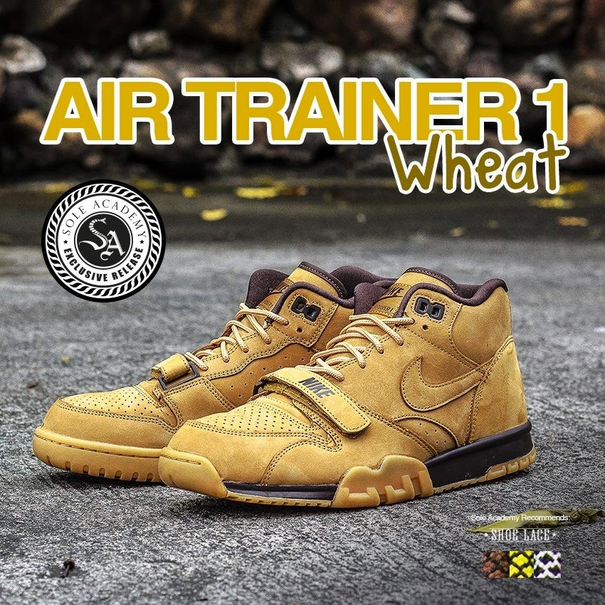 776639a5cc83 Nike Air Trainer 1 Wheat available at Sole Academy