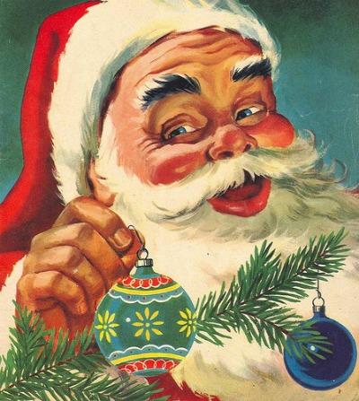 Vintage Santa Images 23
