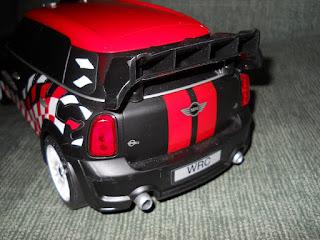 coche miniatura mini cooper