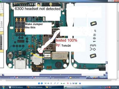 6300 headset problem