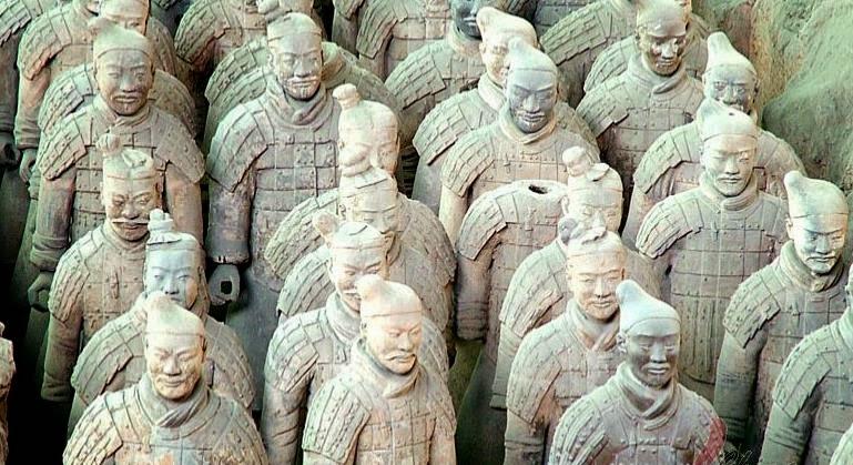 terracotta worriers