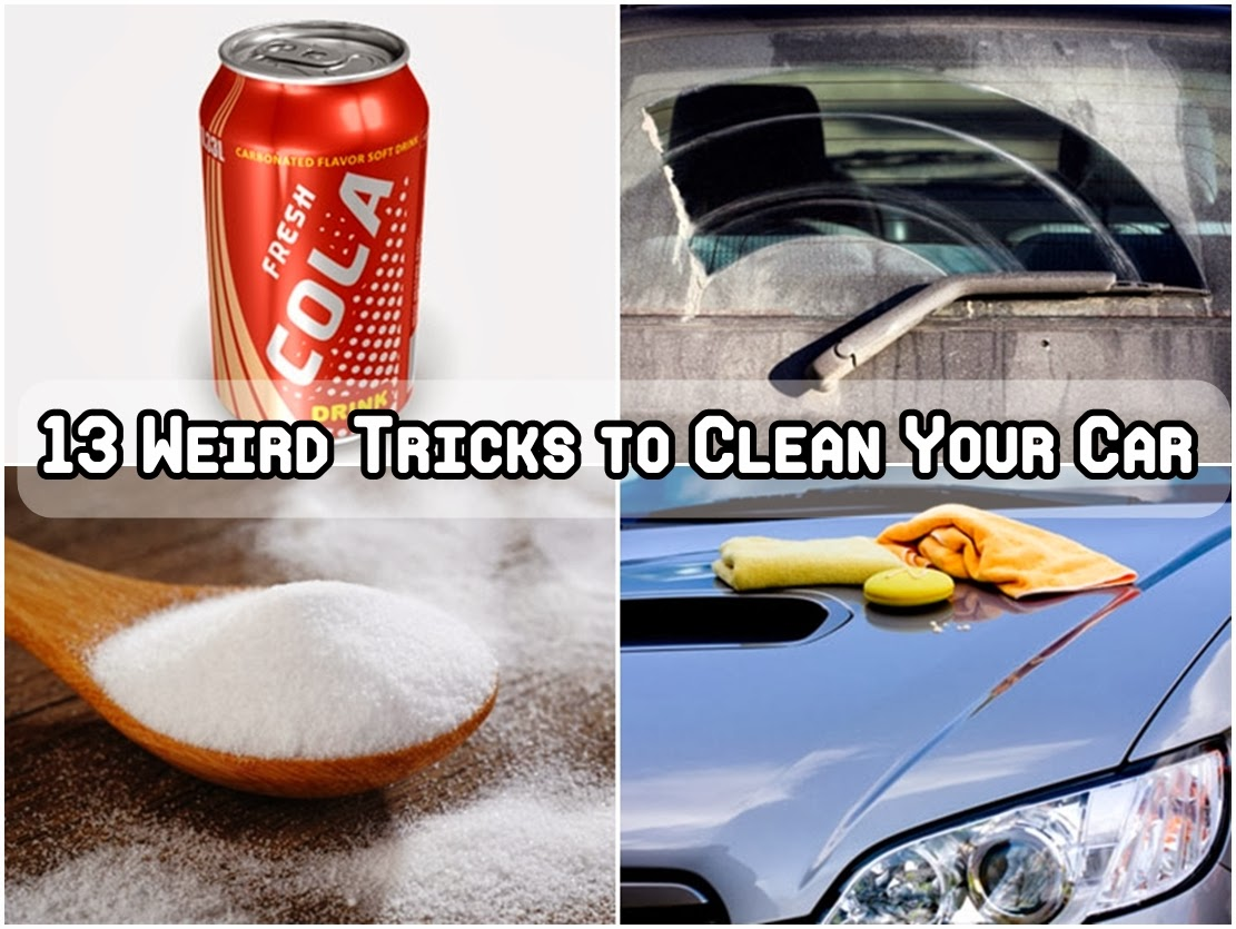 13 Weird Tricks to Clean Your Car