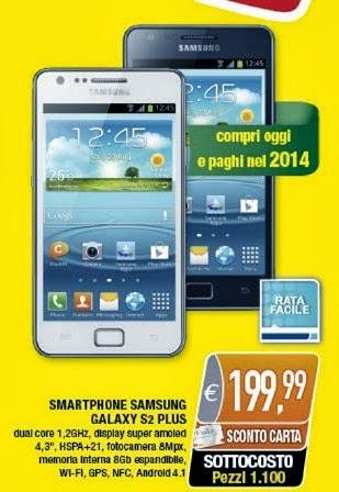 Nell'ultimo volantino pre natalizio di Oasi troviamo uno smartphone di fascia media a buon prezzo