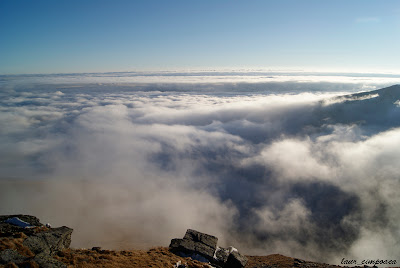 Transalpina DN67C Drum printre nori