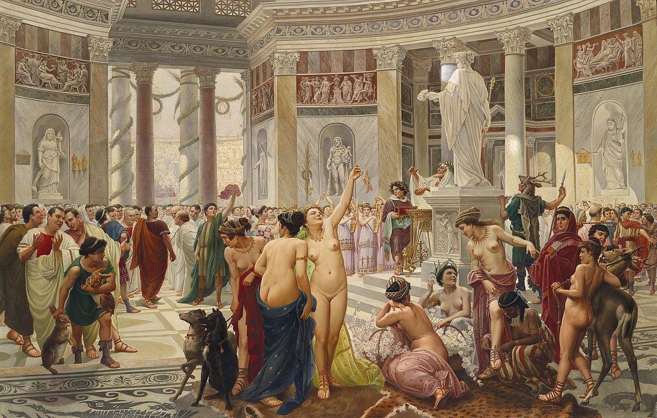 pinturas prostitutas fiesta de prostitutas