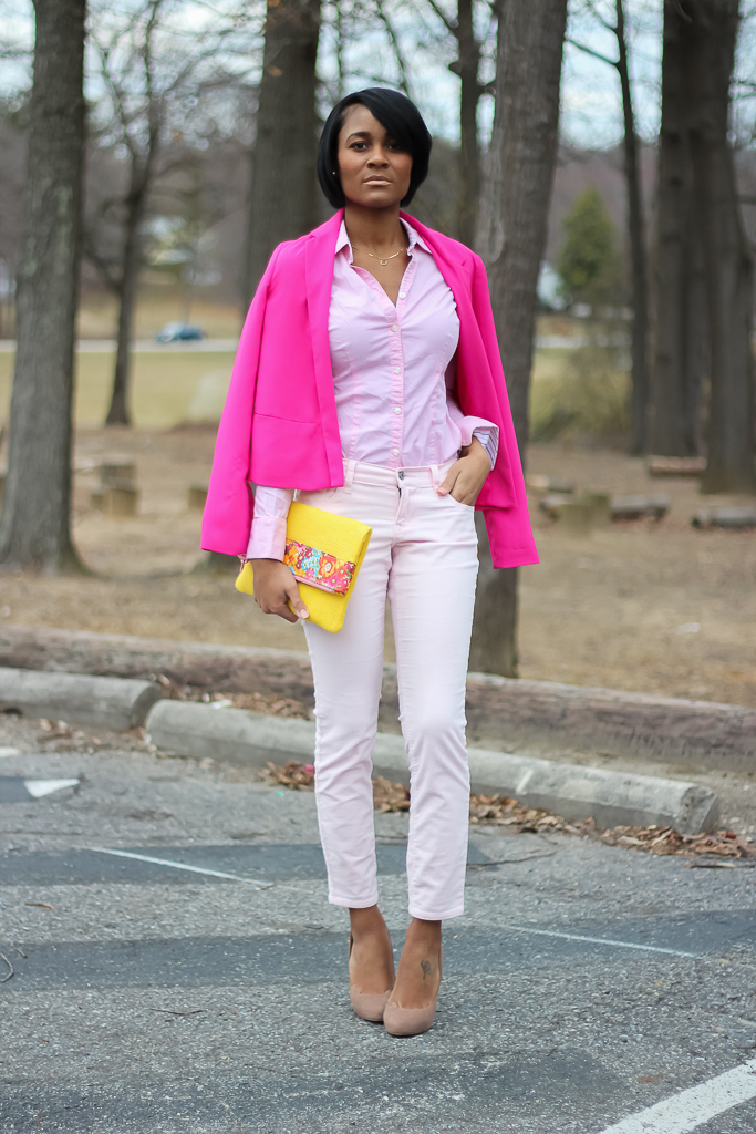 The Daileigh: Color Me Pink