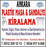Sandalye Kiralama Ankara