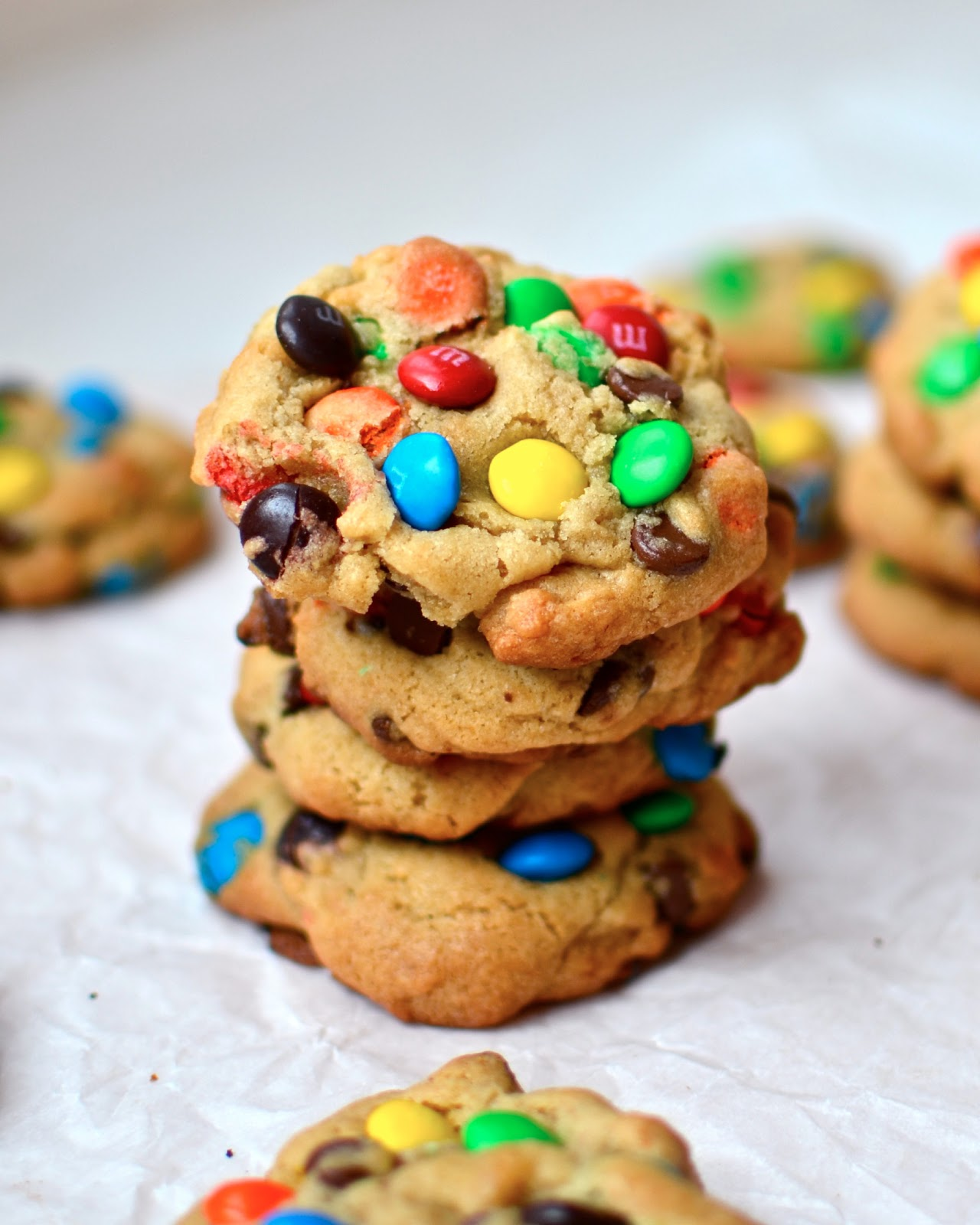 and chewy m m cookie chewy coconut m m oatmeal m m confetti cookies ...