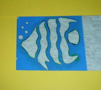 Learning Ideas - Grades K-8: Caterpillar Stenciled T-Shirt Crafts ...