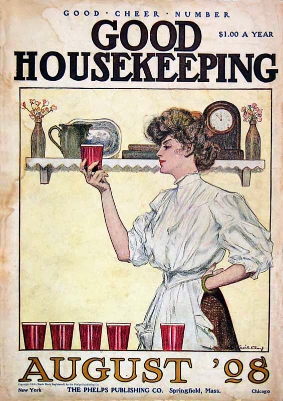 good_housekeeping_1908 cottage by the sea~ housekeeping meme