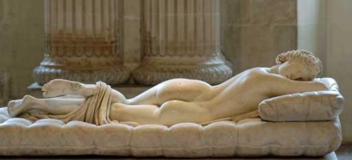sleeping Hermaphroditos