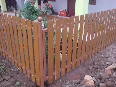 aplikasi woodplank sebagai pagar
