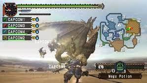 Download Games Monster Hunter Freedom Unite PSP For PC