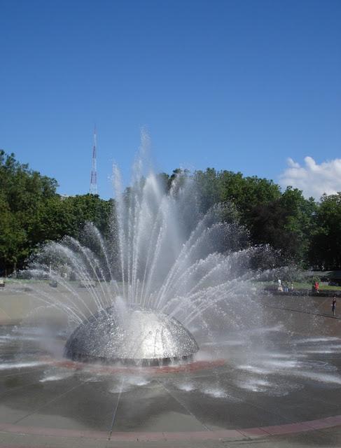 International Fountain in Seattle WA