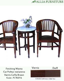 Contoh Furniture Politure Coffe Brown