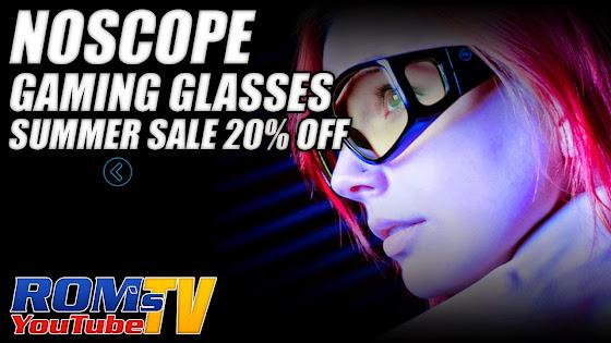 NoScope Gaming Glasses Summer Sale 20% OFF