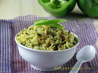Easy-Indian-Capsicum-Rice-Recipe
