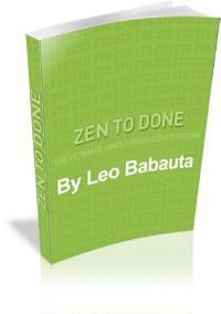 Resumo do Livro Zen To Done (ZTD) de Leo Babauta