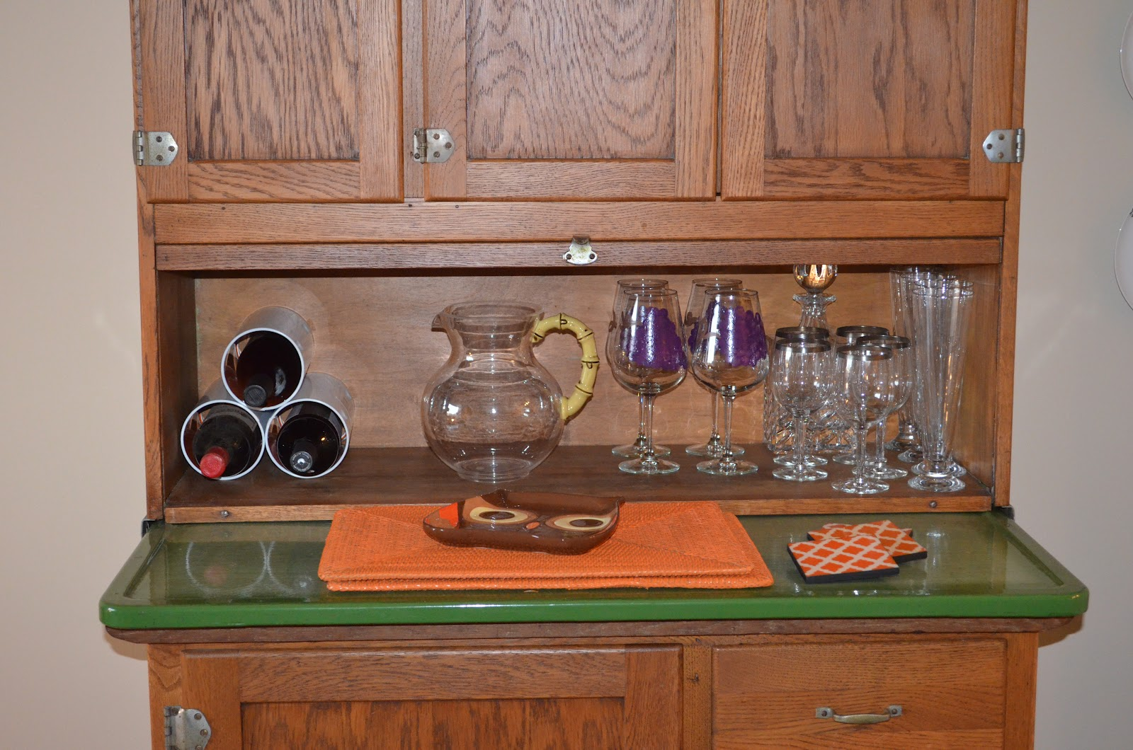 Apartment Size Hoosier Cabinet All About Vignettes Whats A Hoosier