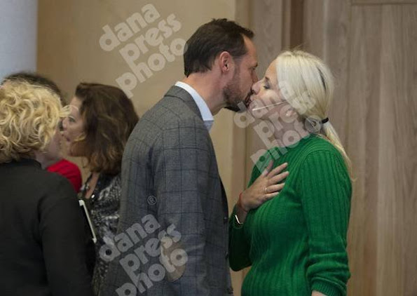 Crown Prince Haakon of Norway, Crown Princess Mette-Marit and Princess Ingrid Alexandra