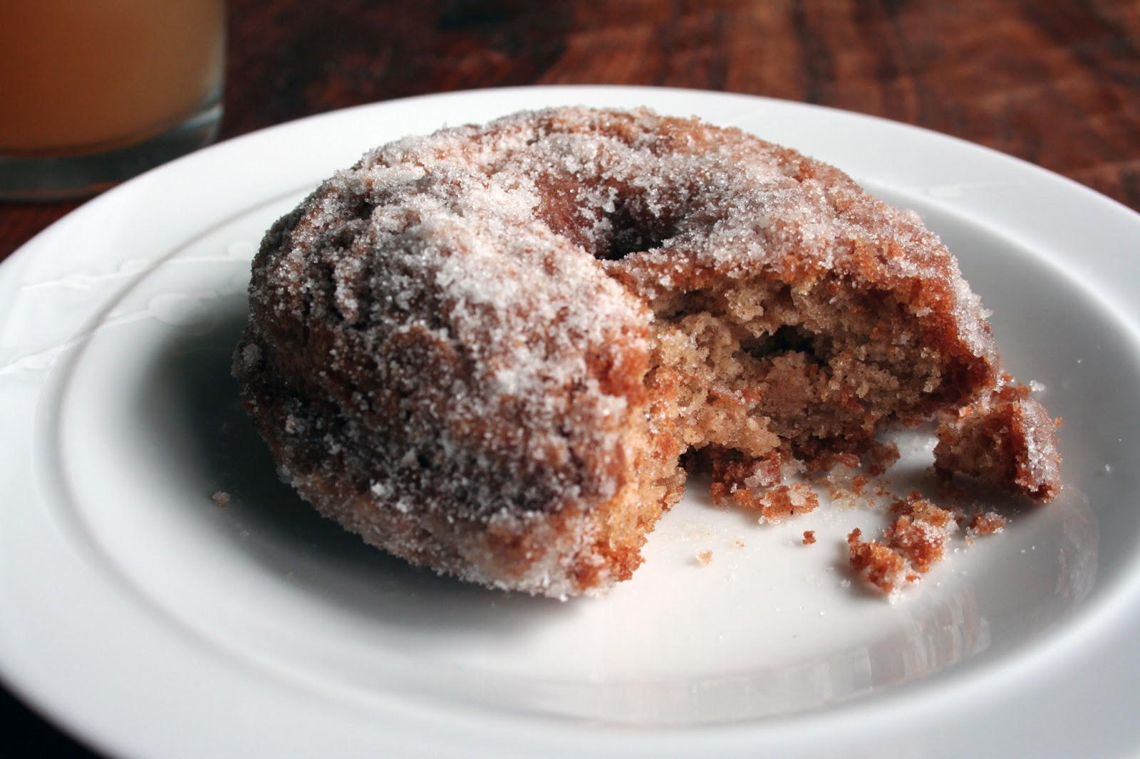 How to Make Apple Cider Doughnuts - College Gloss