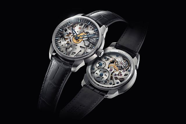 Tissot T-Complication Squelette Watch