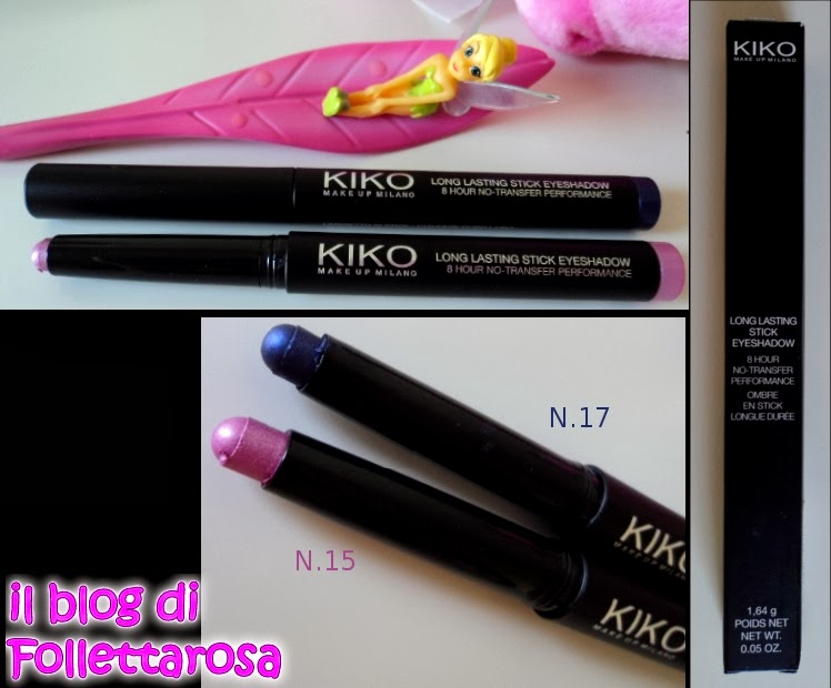 opinione long lasting stick kiko