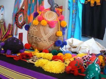 Arte de manos wayuu