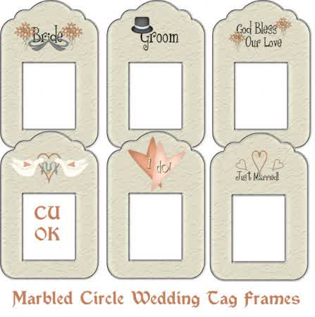 Wedding Label / Tag / Card Template You'Ll Love | Bridal Wedding Ideas