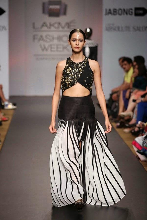 Urvashi Joneja creation at LFW Summer/Resort 2014