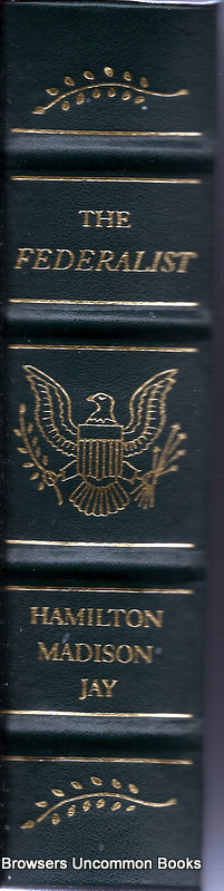 The federalist papers leather bound