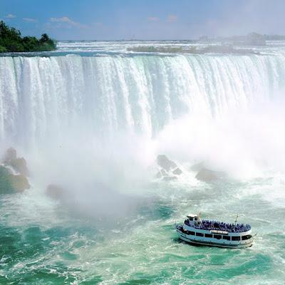 Cataratas del Niágara - Niagara Falls (Panorámica)
