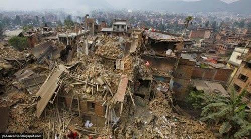 Video Kedahsyatan Gempa Bumi di Nepal Baru baru Ini