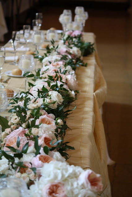 Saratoga Hall of Springs Floral Table Runner - Splendid Stems Event Florals