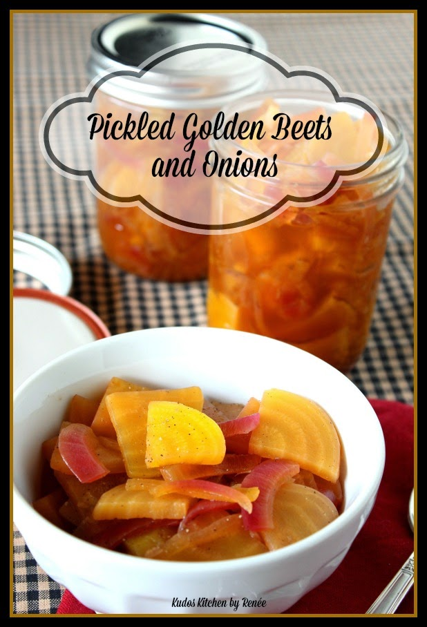 Pickled Golden Beets and Onions Recipe