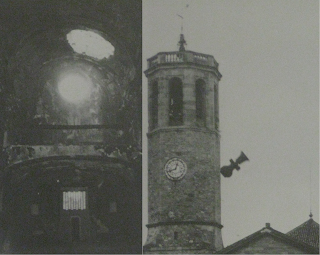 sarria guerra civil 1936 iglesia