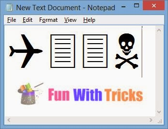 World trade center attack trick using notepad_FunWidTricks.Com