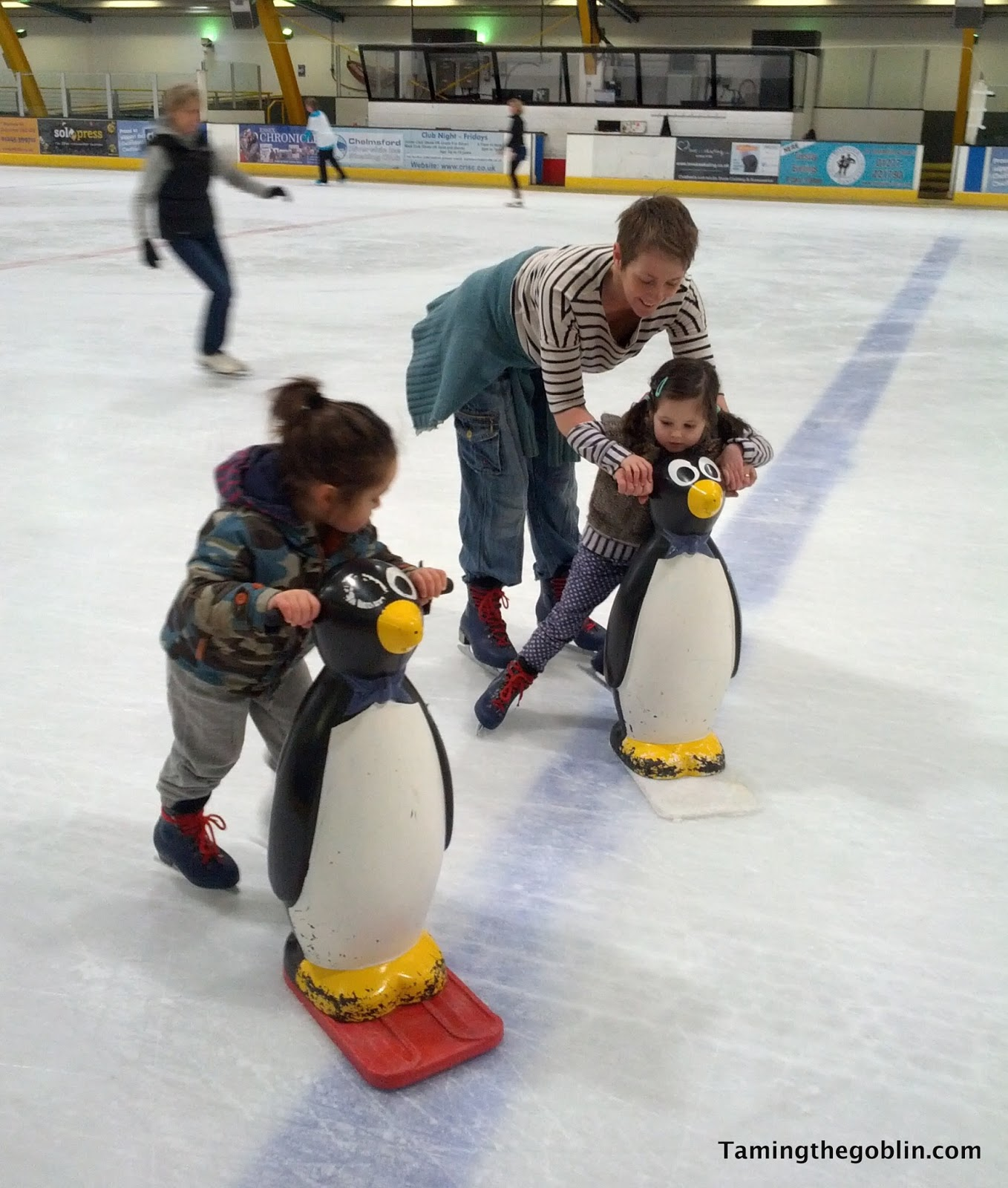 I Took Goblin Iceskating With His Friends The Other Week I Have To Admit I  Wasn't Sure How He'd Be Despite Being Quite A Physical Child It's Hard To
