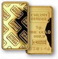lingote de ouro