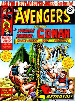 Marvel UK, Avengers #98