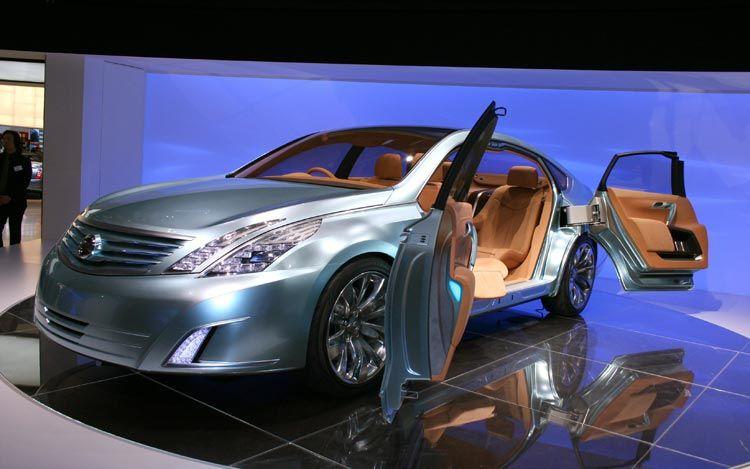 Car Models Com Nissan Intima Concept