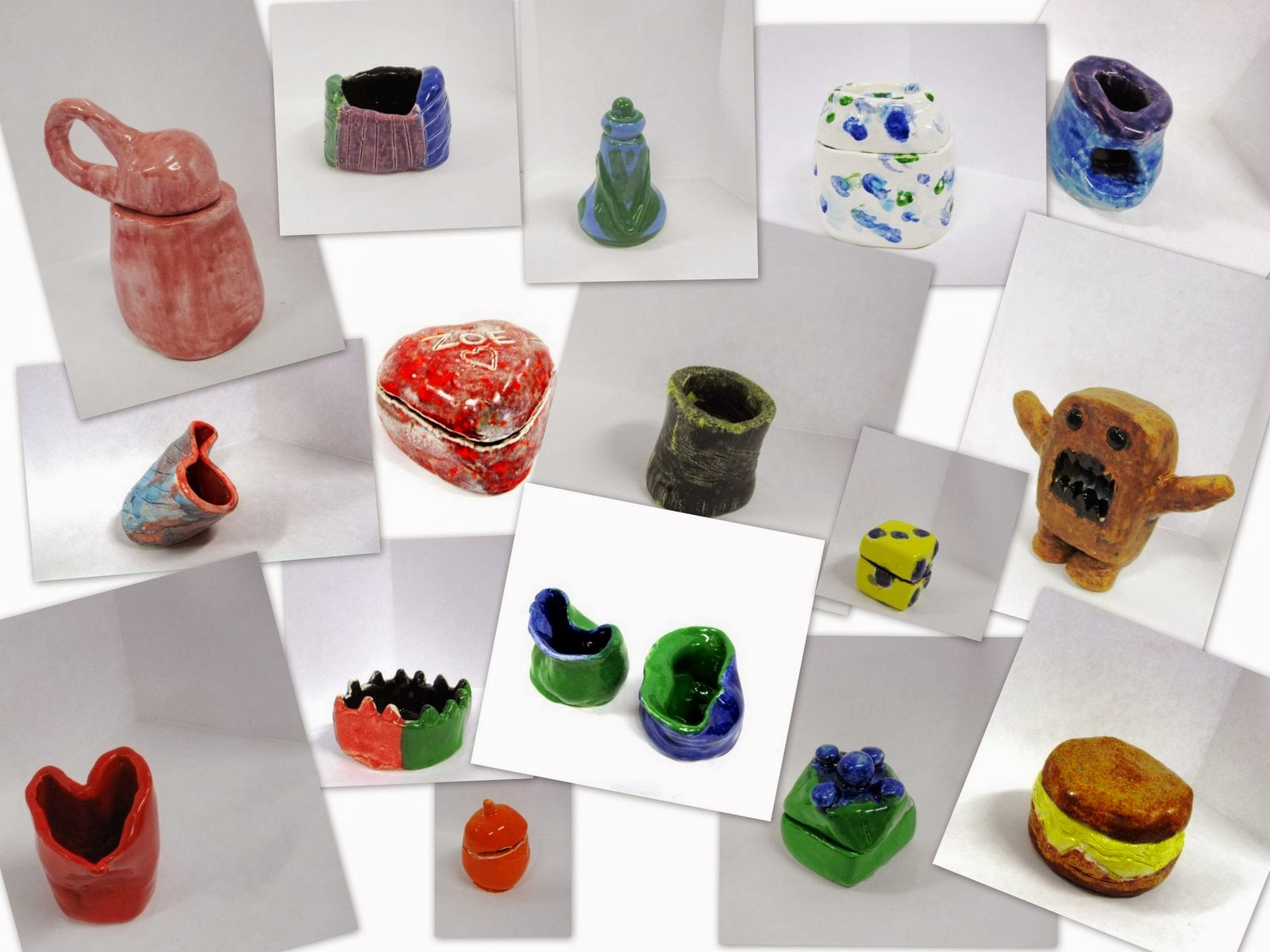 clay projects for middle school Project description: the curriculum for 8 th graders focuses on a portion of the elements and principles of design the elements that are explored in class will help to create the backbone.