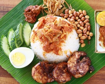 Best nasi lemak family recipe